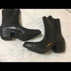 Western Style Rain Boots